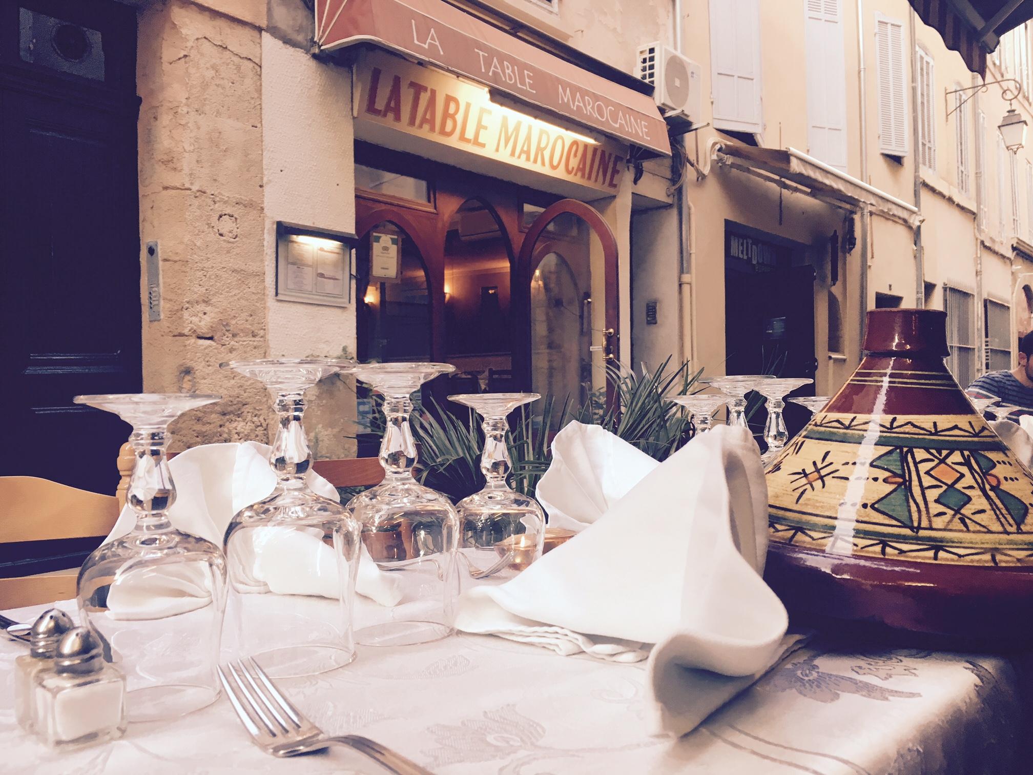 La Table Marocaine Aix en Provence